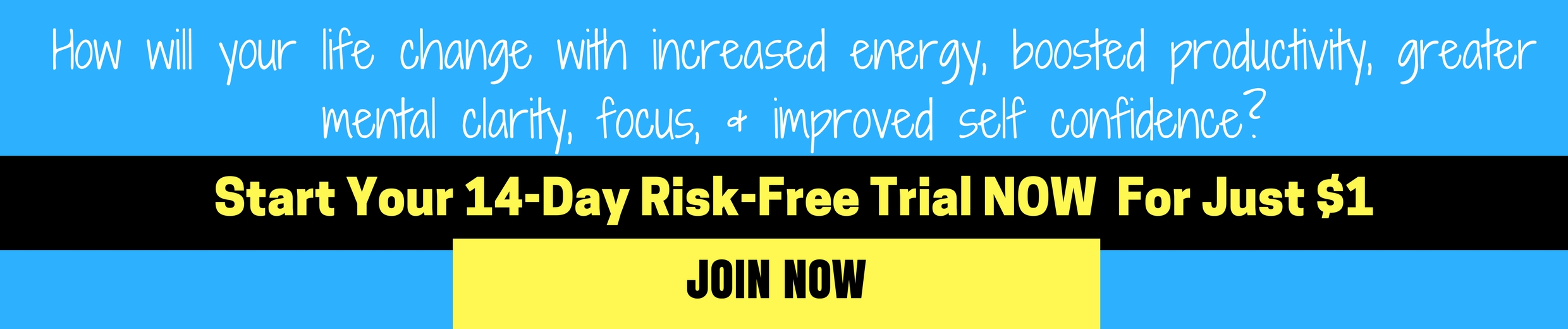 14 DAY RISK FREE TRIAL BANNER